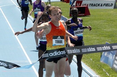 True became the first U.S. man to win a Diamond League 5k last year