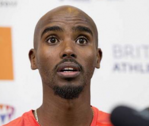 Mo Farah addressed the media the day before and then pulled out on race day