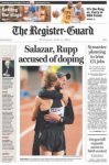 Register Guard front page