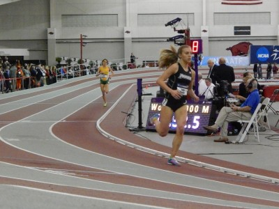 Sisson had no problems at NCAA indoors but will face a stiffer challenge here