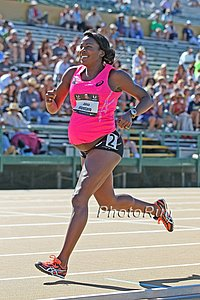 A pregnant Alysia Montano competes as 204 USAs *Full Photo Gallery Here