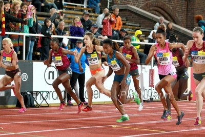 Simpson came out on top the last time she raced Dibaba over 1500