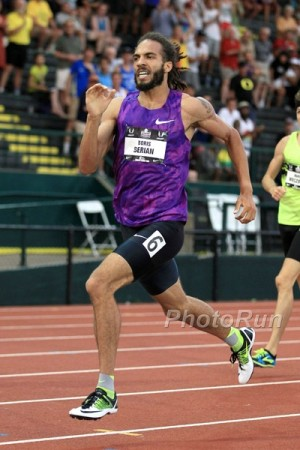 Berian will look to rebound after going out in the semis at USAs