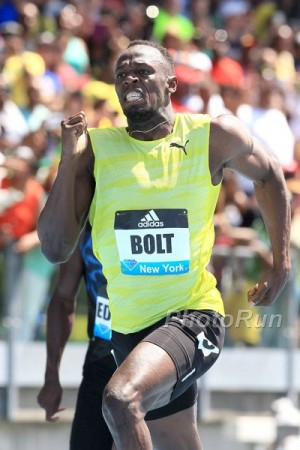 Bolt hasn't lost since 2013, but he's had to work for it in 2015