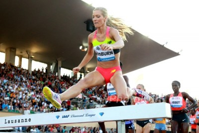 Coburn was only third in Lausanne, but better conditions in Monaco could see her challenge the American record