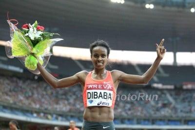 Dibaba has been invincible in 2015