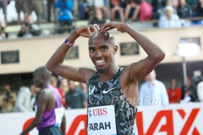 Despite concerns about his coach, Farah put together another dominant year on the track in 2015