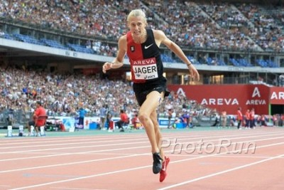 Jager set the American record in Paris in 2015