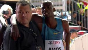 How serious is Nijel Amos injury?