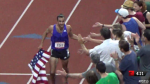 Robby Andrews celebrates after his win
