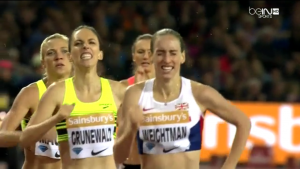 Laura Weightman Dug Deep In This One