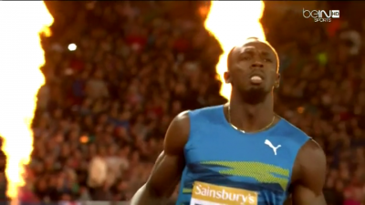 Bolt won but he had to work for it in the final