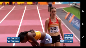 Almost for Molly Huddle
