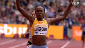 Cherono Was Too Good on the Final Lap