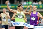 Symmonds put on a show to win his sixth U.S. title in June