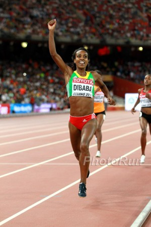 The arrest of her coach has led to questions about Dibaba's performances