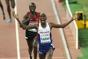 Mo Farah wins in Beijing