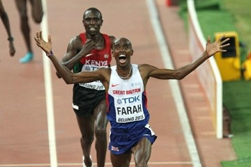 Mo Farah Wins Worlds 2015