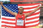 Aries Merritt With a US Hurdle Medal 4 Days Before a Kidney Transplant
