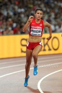 Jenna Prandini Running in Pumas