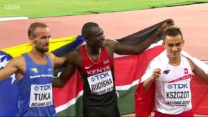 The three medallists