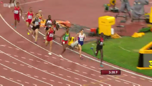 The lion has a huge heart. Leo Manzano amazingly went from 10th to 5th in the final 100