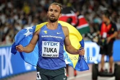 Tuka's bronze was Bosnia & Herzegovina's first-ever medal at Worlds