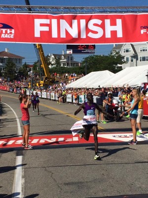 Sambu became the eighth man to win multiple times at Falmouth
