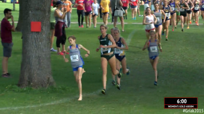 Annie Bothma leads at Roy Griak