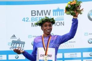 Gladys Cherono 2015 Champion