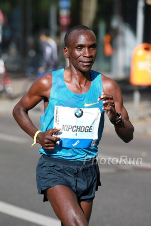 Eliud Kipchoge Was All Smiles in Berlin