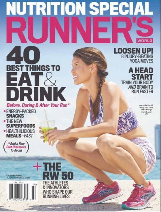 The list appears in the October 2015 edition of Runner's World