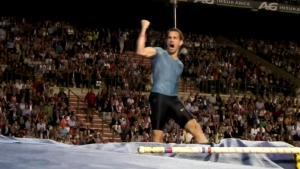 Emotion in the pole vault