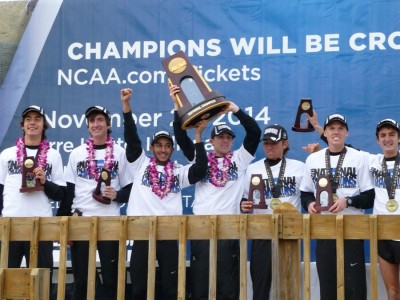 Colorado on top of the podium has become a familiar sight