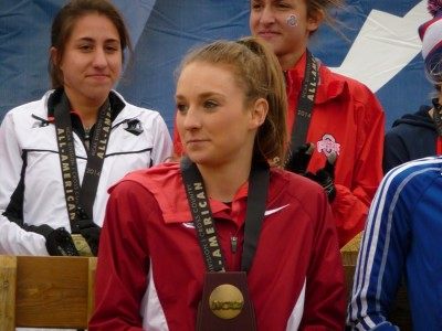 Cranny was 12th at NCAAs in '14, the best finish by a freshman last year