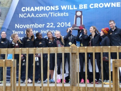 The Cyclones reached the NCAA podium for the first time in 29 years in 2014