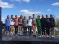 The top finishers in Wisconsin (photo Courtesy Boise State XC)