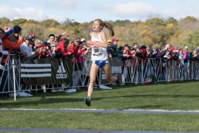 Ostrander is one of several women in a crowded field of NCAA contenders (photo courtesy Boise State XC)