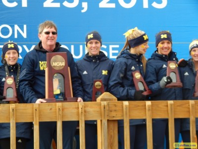 Michigan was fourth at NCAAs two years ago and is on track for another podium finish in 2015