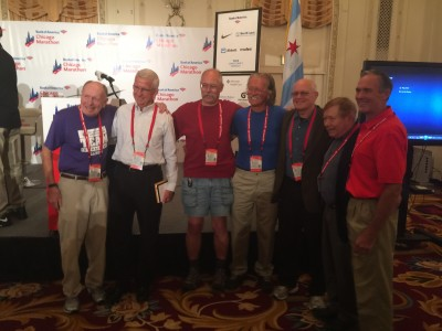 The Chicago 7 - These men have run every single Chicago Marathon