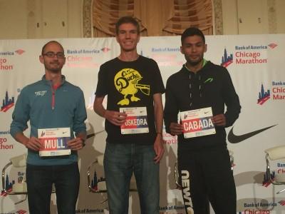 Brandon Mull, Luke Puskedra and Fernando Cabada