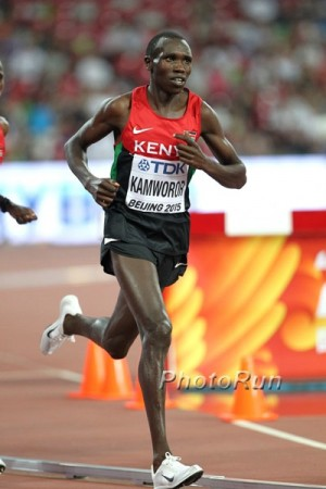 Kamworor has excelled on the track, roads and in cross country