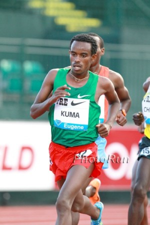 Kuma at the Pre Classic in 2013
