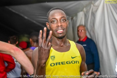 Another day, another NCAA title for Edward Cheserek