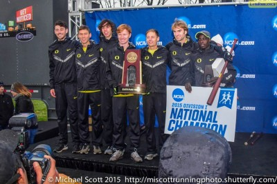 The Ducks returned to the NCAA podium after a six-year absence
