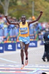 Stanley Biwott Wins 2015 TCS NYC Marathon