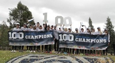 The CU men and women swept the titles at Pac-12s (photo courtesy Pac-12 Neworks)