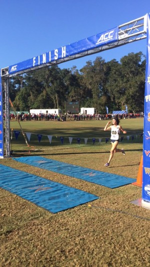 Seidel crushed the competition at ACCs on Friday
