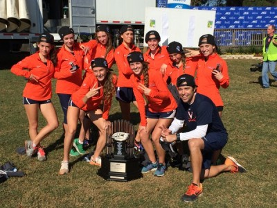 Virginia will look to add a regional crown to its ACC title (courtesy UVA Track & Field/CC)