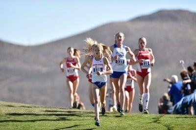 Ostrander won the Mountain West meet handily on October 30